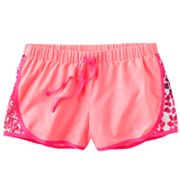 SO Animal Mesh Performance Shorts - Girls 7-16