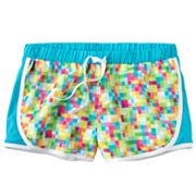 SO Pixel Mesh Performance Shorts - Girls Plus
