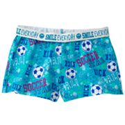 SO Soccer Fold-Over Knit Shorts - Girls 7-16