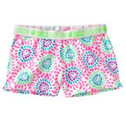 SO Heart Fold-Over Shorts - Girls Plus