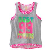 SO Best Friends Hi-Low Tank Set - Girls Plus