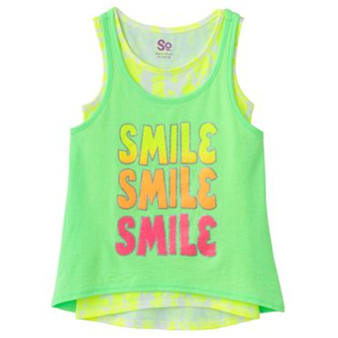 SO Smile Hi-Low Tank Set - Girls 7-16