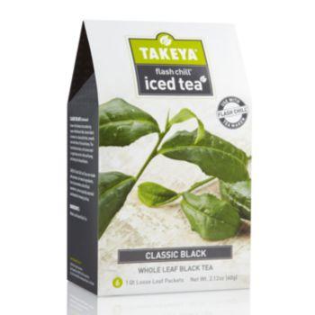 Takeya Flash Chill Classic Black Whole Leaf Iced Tea