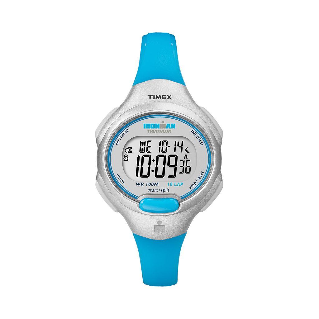 Timex Women's Ironman Triathlon Digital 10-Lap Chronograph Watch