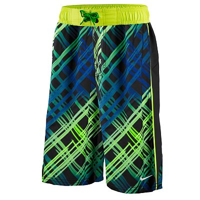 Nike Hyper Plaid Swim Trunks - Boys 8-20