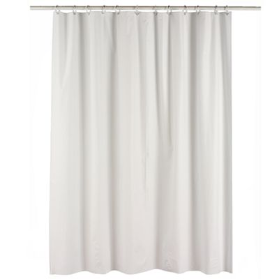 Home Classics Deluxe Vinyl Shower Curtain Liner