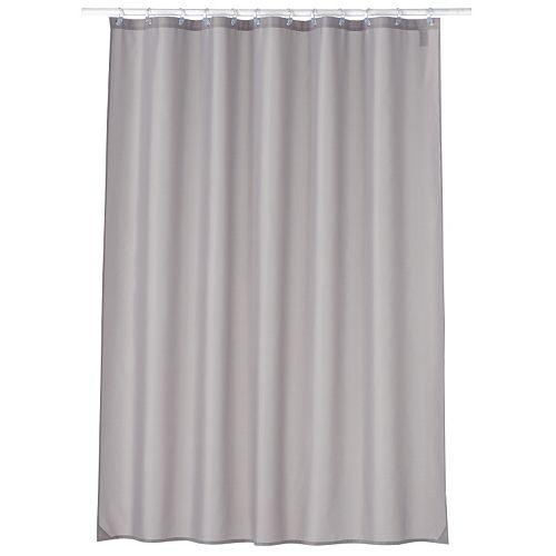 Home ClassicsR Luxury Fabric Shower Curtain Liner