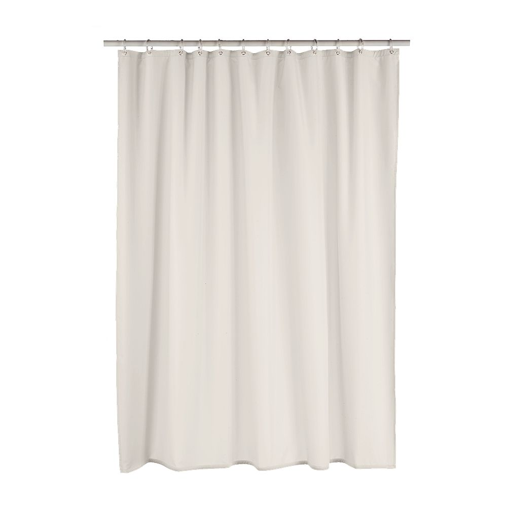 Home ClassicsR Luxury Fabric Shower Curtain Liner