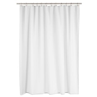 Home Classics Luxury Fabric Shower Curtain Liner