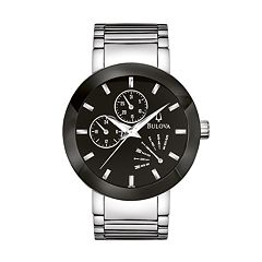 Bulova Stainless Steel Watch - 96C105 - Men