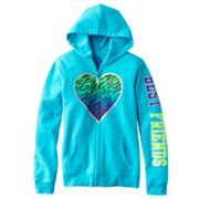 SO Best Friends Heart Fleece Hoodie - Girls 7-16