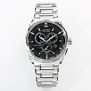 Citizen Eco-Drive Stainless Steel Perpetual Calendar Chronograph Watch - BL5480-53E - Men