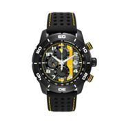 Citizen Eco-Drive Primo Stainless Steel Black Ion Chronograph Watch - CA0467-38E - Men