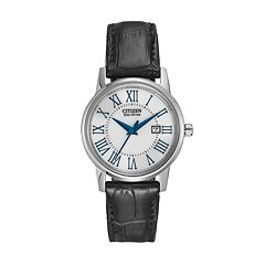 Citizen Eco-Drive Women's Leather Watch - EW1568-04A