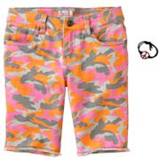 SO Camouflage Bermuda Shorts - Girls 7-16