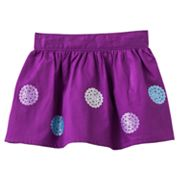 OshKosh B'gosh Glitter Sequin Sateen Skirt - Toddler