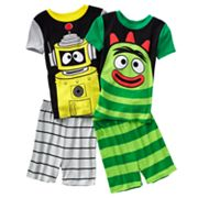 Yo Gabba Gabba 4-pc. Pajama Set - Boys 4-8