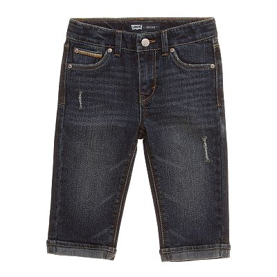 Levi's Boardwalk Denim Skimmer Pants - Girls 4-6x