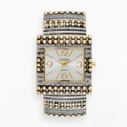 Studio Time Two Tone Bangle Watch - STD3371D - Women's Plus