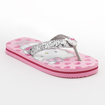 Hello Kitty Heart Sandals - Girls
