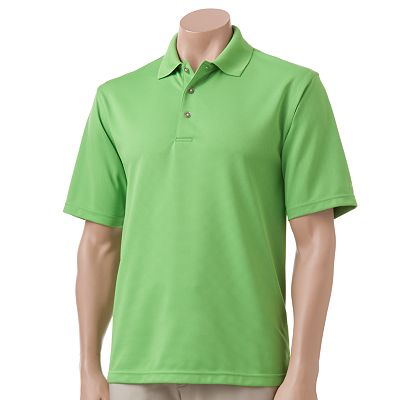 Grand Slam Ottoman-Ribbed Performance Polo - Big and Tall