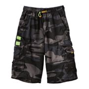 Unionbay Brooks 360 Camouflage Cargo Shorts - Boys 8-20