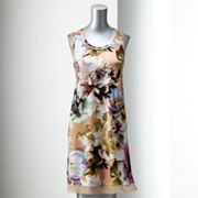 Simply Vera Vera Wang Floral Shift Dress