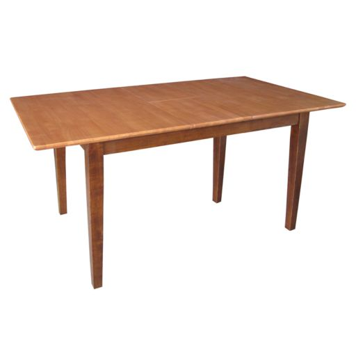 Butterfly Extension Two-Tone Dining Table