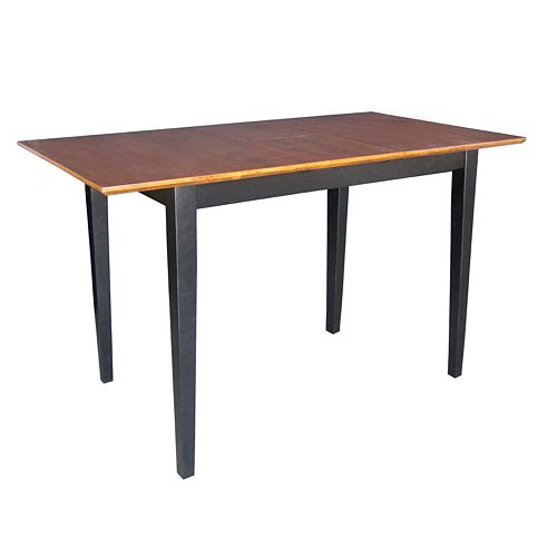 Butterfly Extension Two-Tone Counter-Height Dining Table