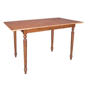 Butterfly Extension Turned Counter-Height Dining Table