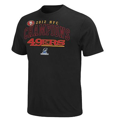 San Francisco 49ers 2012 NFC Champions Tee - Men