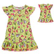Dollie and Me Sweets Nightgown Set - Girls 4-10