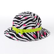 Jumping Beans Zebra Striped Sun Hat - Girls 4-7