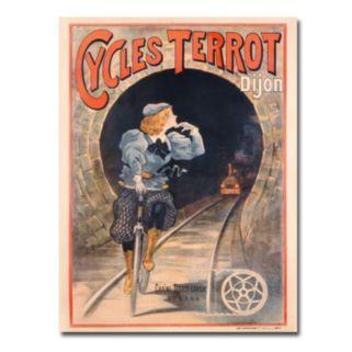 Cycles Terrot, 1900 35'' x 47'' Canvas Art