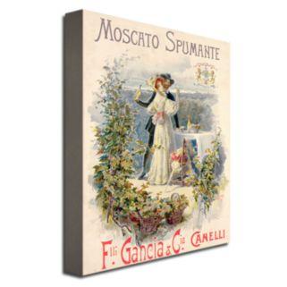Moscato Spumante 18'' x 24'' Canvas Art by Cesare Saccaggi