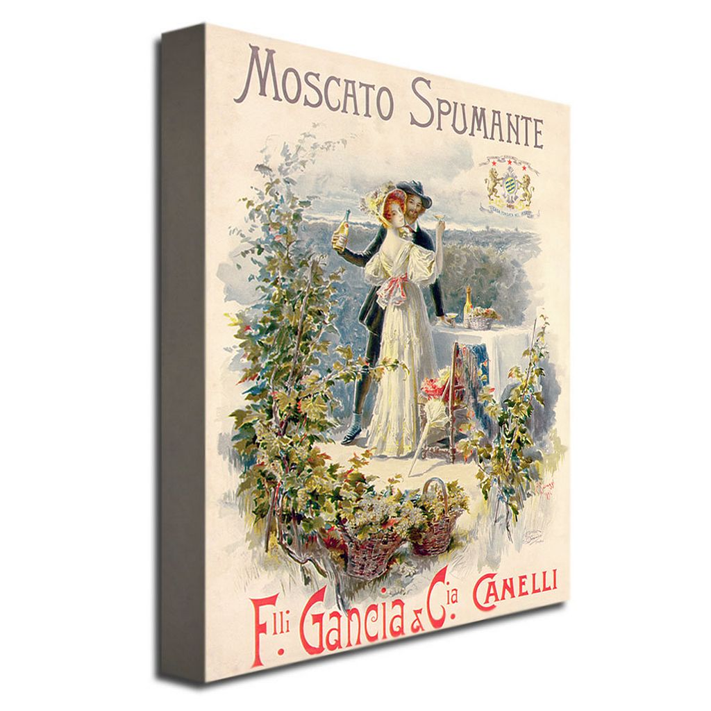 Moscato Spumante 30'' x 47'' Canvas Art by Cesare Saccaggi