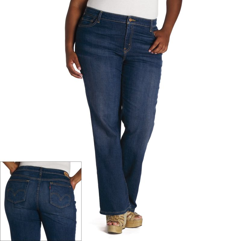 Levi's Fuller-Waist Bootcut Jeans - Women's Plus