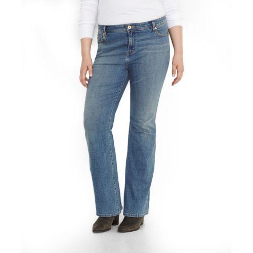 Levi's Defined Waist Bootcut Jeans  - Women's Plus