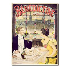 'Benedictine, 1898' 35' x 47' Canvas Art by Lucas Silva