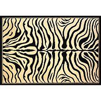 Infinity Home Dulcet Zebra Rug - 2'7'' x 3'11''