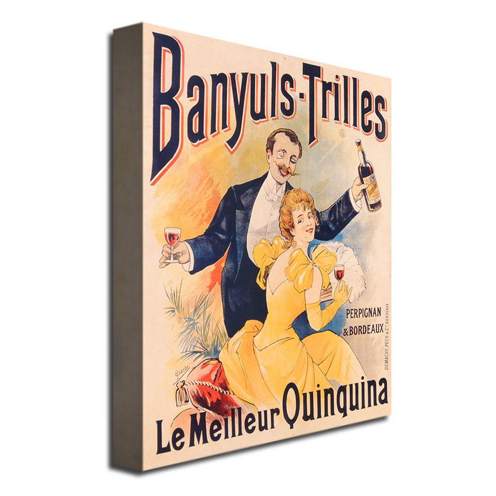 Banyuls-Trilles Quinquina, 1898 24'' x 32'' Canvas Art