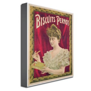 Pernot Biscuits, 1902 24'' x 32'' Canvas Art