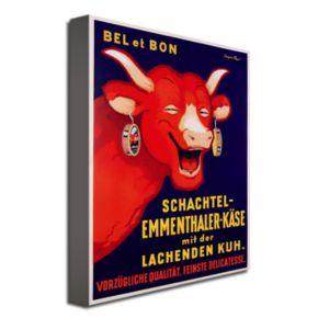 Bel et Bon, 1929 24'' x 32'' Canvas Art by Benjamin Rabier