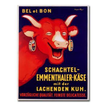 Bel et Bon, 1929 35'' x 47'' Canvas Art by Benjamin Rabier