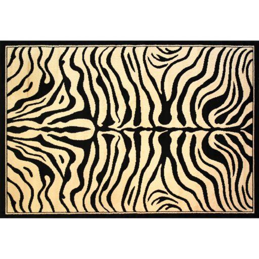 Infinity Home Dulcet Zebra Rug - 3'3'' x 5'3''