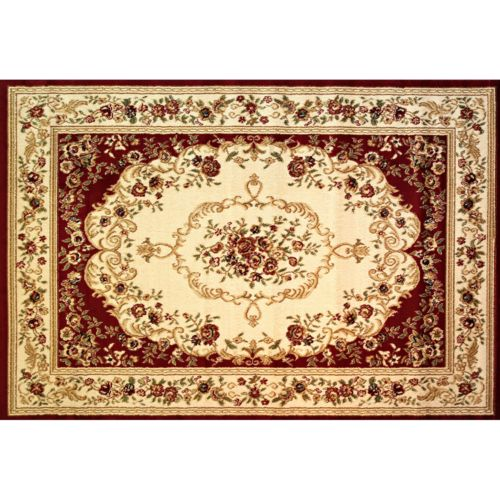 Infinity Home Dulcet Versaille Scrolls Rug – 5′ x 7'2""
