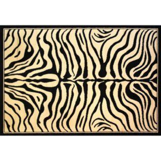 Infinity Home Dulcet Zebra Rug - 5' x 7'2''