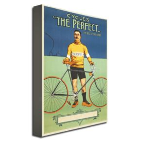 The Perfect Bicycle, 1895 16'' x 24'' Canvas Art