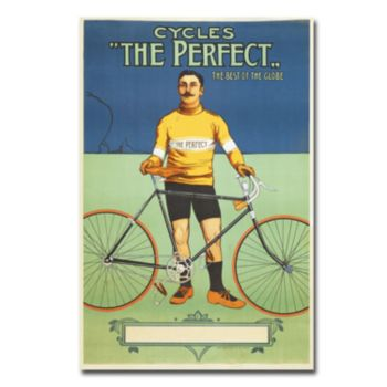 The Perfect Bicycle, 1895 22'' x 32'' Canvas Art
