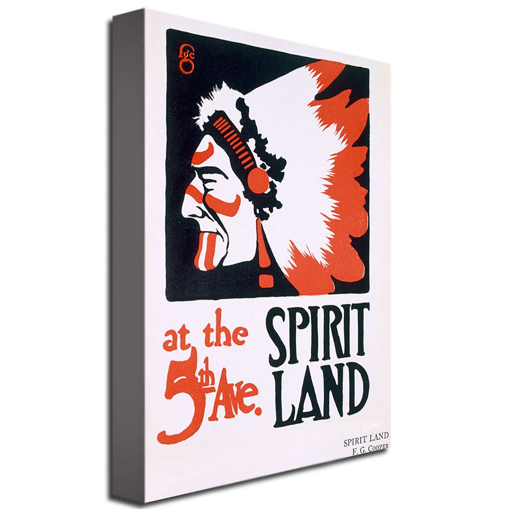 Spirit Land 16'' x 24'' Canvas Art by FG Cooper